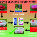 Safe COVID-19 Return To Play: Cleaning Shared Sporting Equipment